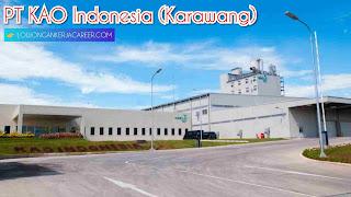 Loker PT KAO Karawang 2020