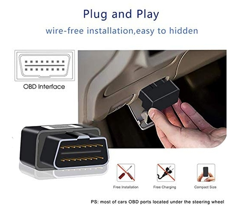 Reiwour 4G OBD Real Time GPS Tracker for Vehicles