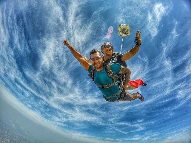 SKYDIVING || TANDEM JUMP || PATTAYA, THAILAND