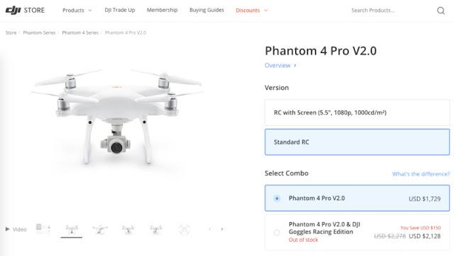 DJI riporta in vita il Phantom 4 Pro V2.0 Alessio Mattei