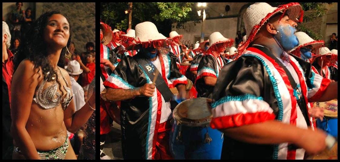 Carnaval. Desfile de Llamadas,Bundundu. 2010.