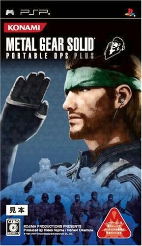 Metal Gear Solid Portable Ops Plus PSP ISO