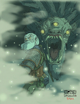 FANART BY SELENTO BOOKS Geralt de Rivia : The Witcher 3 Wild Hunt (CD Projekt RED)  21 Marzo 2020