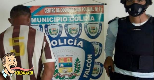 Detenido por abusar de su hijastra de 12 años en Falcón