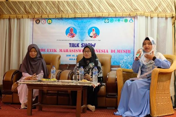 Talk Show Kode Etik Mahasiswi: Upayakan Solusi Penyimpangan Interaksi