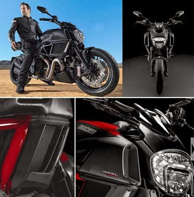 Ducati Diavel with The Bull Power