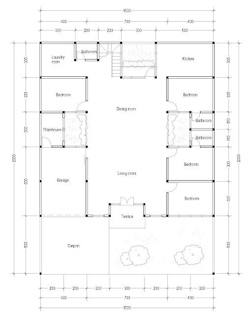 1st Floor Plan for c-15
