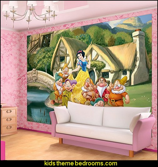 Disney Snow White and the 7 Dwarfs Wallpaper Mural