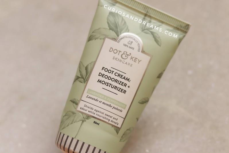 Dot & Key Foot Cream, Dot & Key Foot Cream review, Dot & Key, Dot & Key review