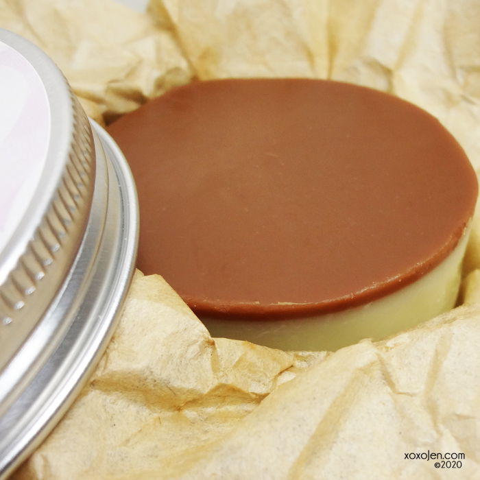 xoxoJen's swatch of The Soapy Chef Self Care Lotion Bar