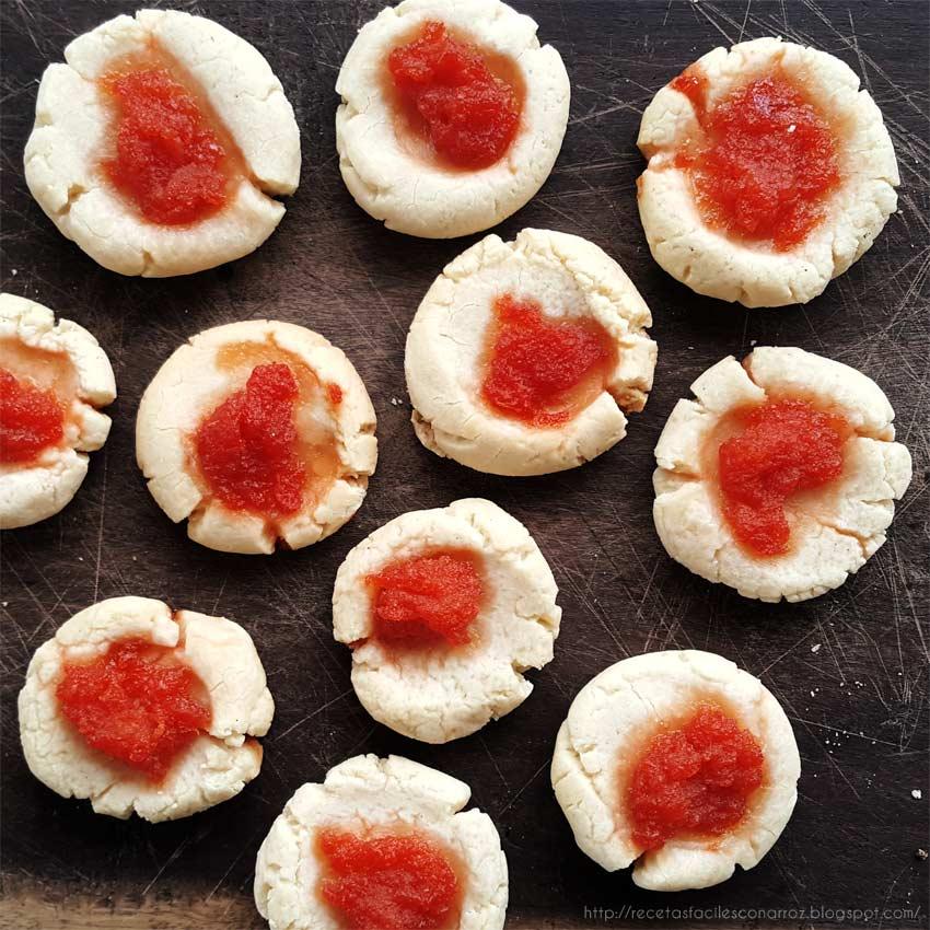 receta galletas dulces