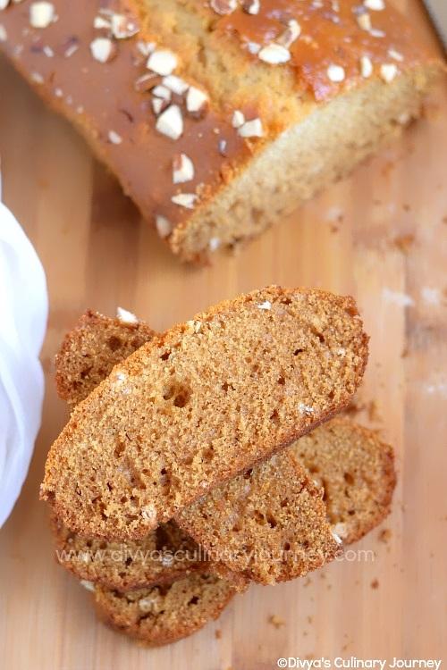 Soft and moist egg-less honey cake
