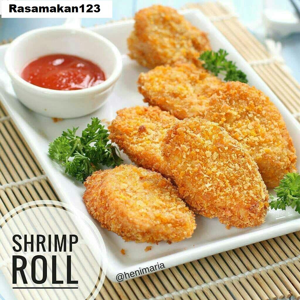 Easy Coocking Recipes Shrimp Roll Hokben In My Style Recipe