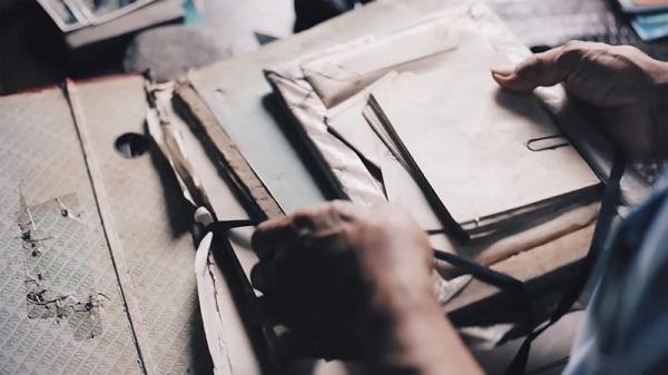 Imagem de papeis e documentos