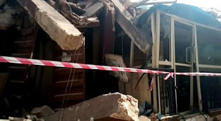 In two weeks, yet another building has collapsed in Lagos Island, after dozens were confirmed killed in a similar accident, Petfadblog.com reports.