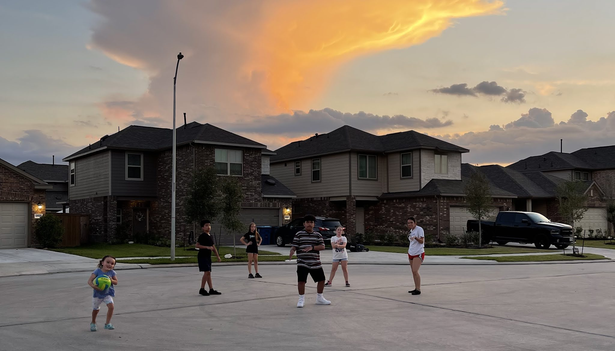 Summer nights in the streets