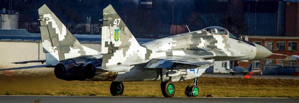 ЛДАРЗ відновив пошкоджений у квітні винищувач МіГ-29