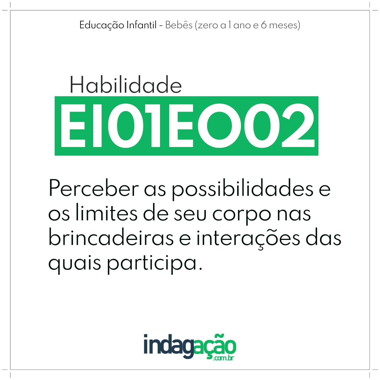 Habilidade EI01EO02 BNCC