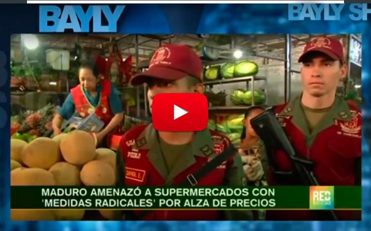 Maduro promete acabar con los supermercados en Venezuela