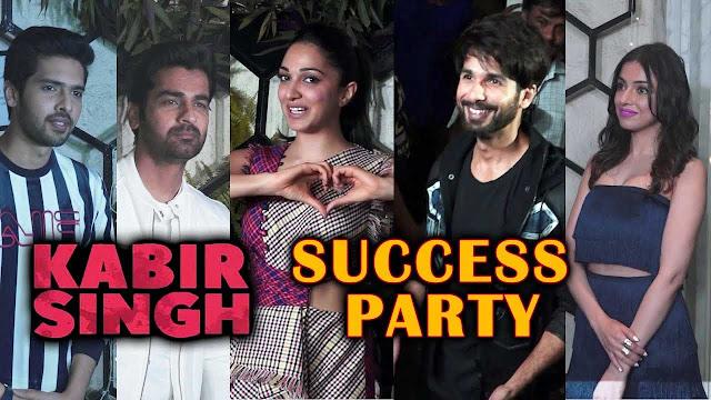 Kabir Singh Success Party