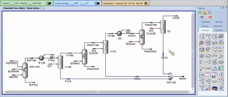Emulando procesos químicos con Aspen Hysys