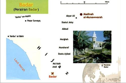 Peta Wilayah Badar