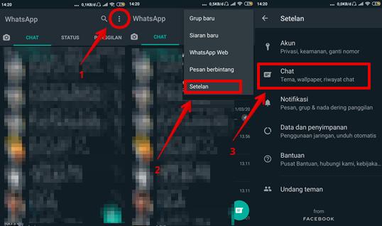 Cara Merubah WhatsApp Ke Dark Mode di Android