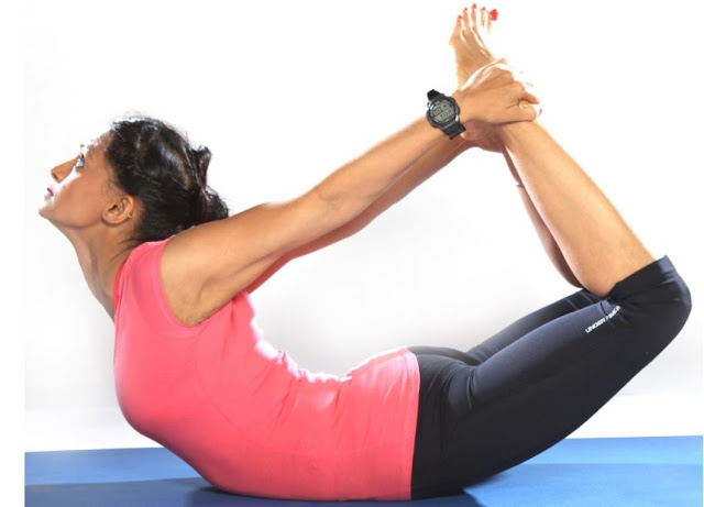Dhanurasana - Yoga Pose for Diabetes