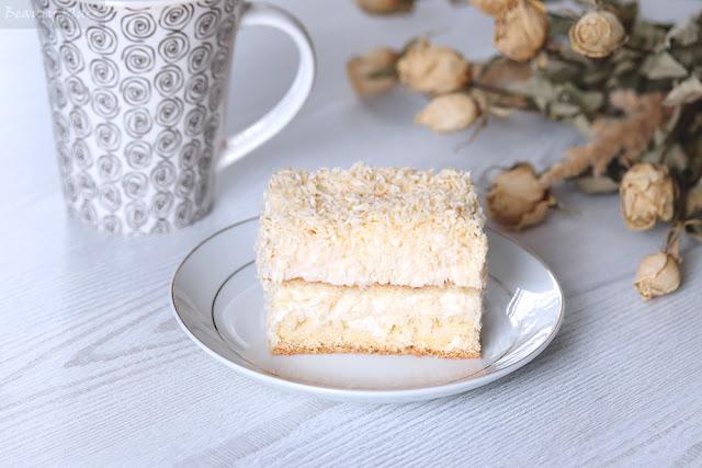 rafaello ciasto na biszkopcie domowe wypieki przepis