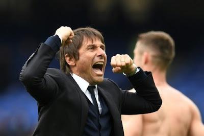 Chelsea boss Conte's weight-loss secret: touchline passion