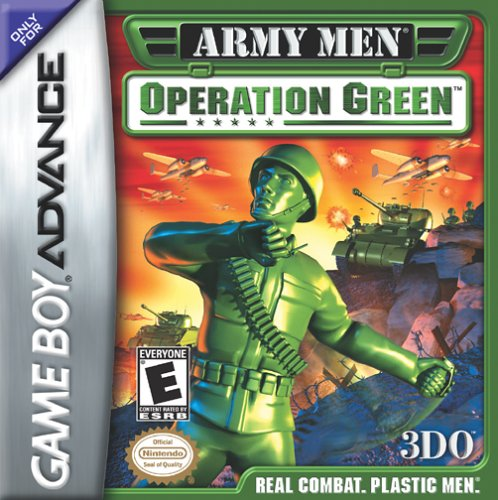 Army Men - Operation green - Español - Portada
