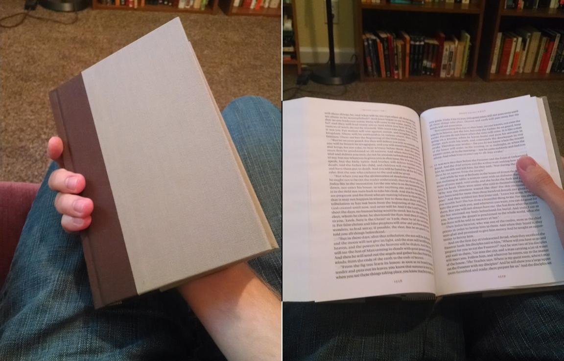 In Progress: ESV Reader's Bible Review, with Notes on the