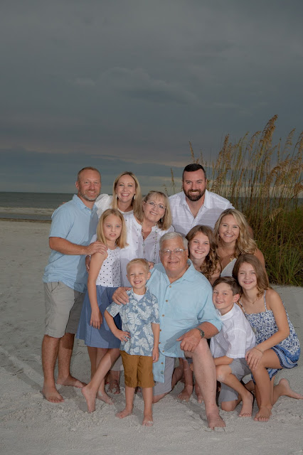 Fort Myers Beach Family Photo Shoot