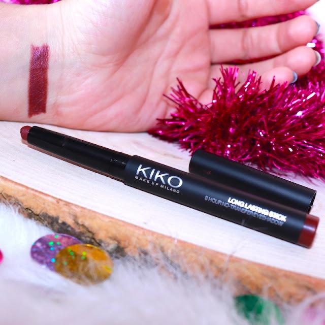 Kiko Long Lasting Stick Eyeshadow 37 Burgundy Göz Farı 1