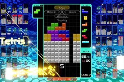 Free to play game Tetris 99