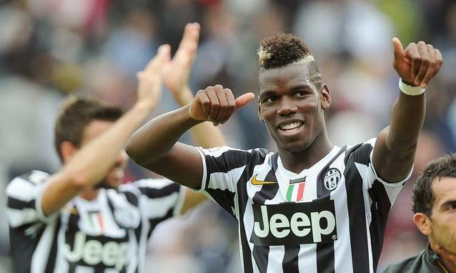 Paul Pogba, jugador de la Juventus de Turin