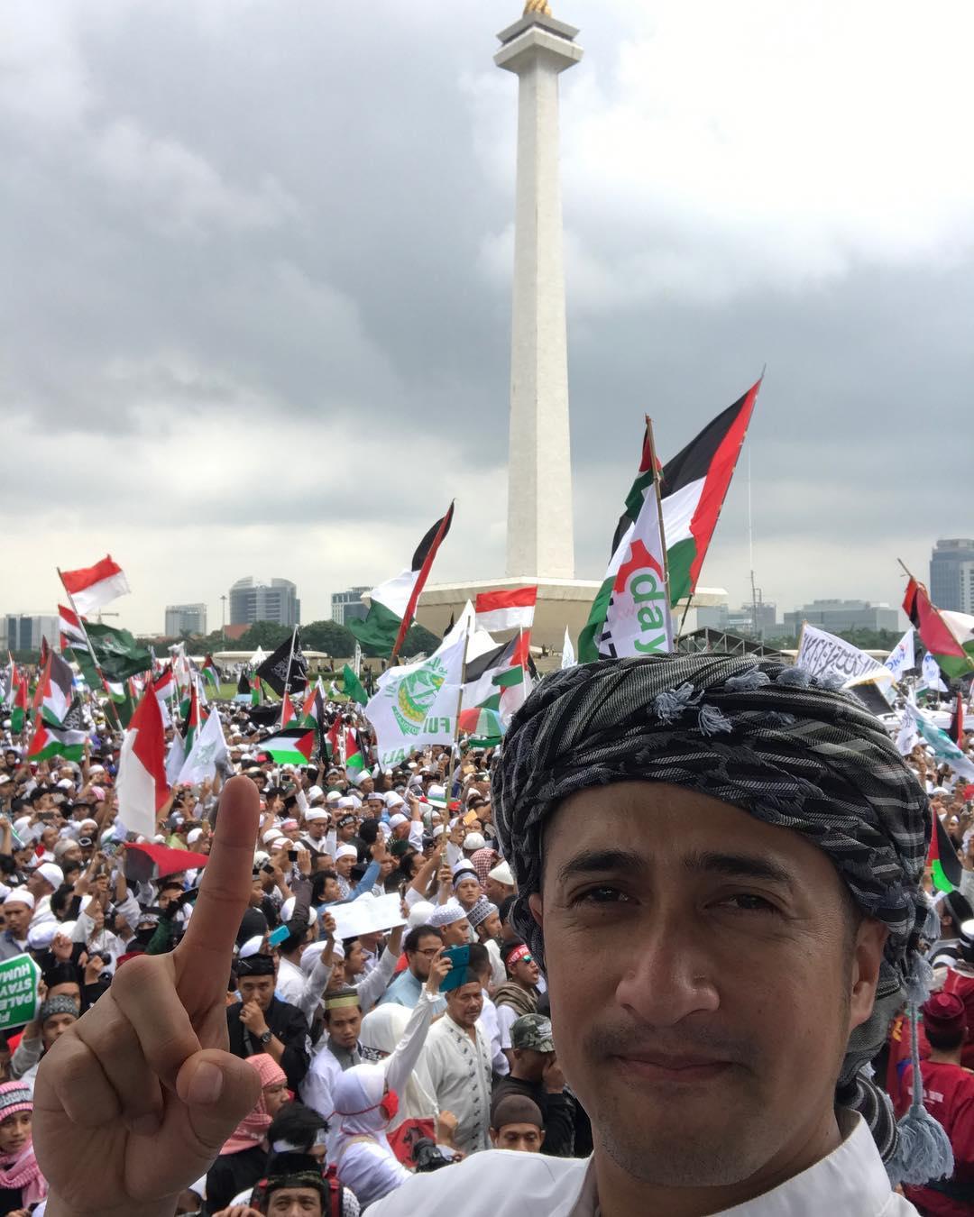 Irfan Hakim : Saya Hadir di 171217 Aksi Bela Palestina