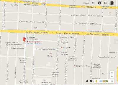 Localizado em área nobre na cidade de maceió, no estado de Alagoas no bairro da Jatiúca.