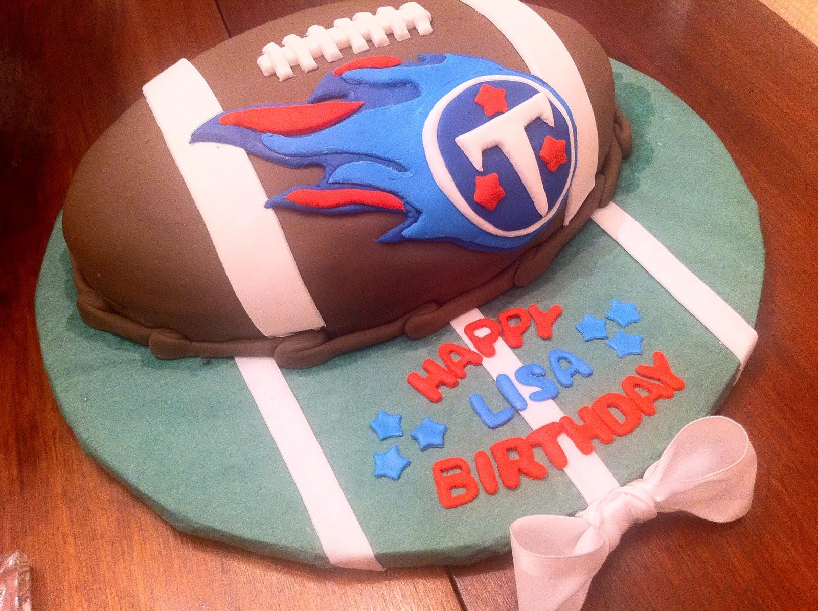52 Weeks Of Sweets Week 28b Tennessee Titans Cake