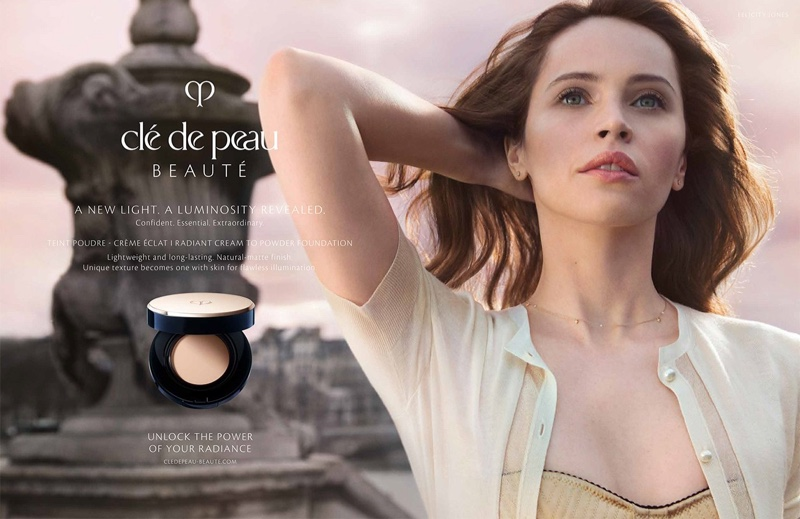 Clé de Peau Beauté enlists Felicity Jones for A New Light 2019 campaign