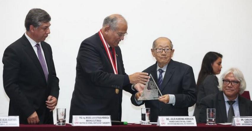 UNI: Universidad Nacional de Ingeniería rindió homenaje a reconocido sismólogo Julio Kuroiwa