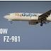 เครื่องบินฟลายดูไบ FZ981 ตกที่รัสเซีย เสียชีวิต 62 ราย
