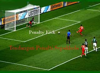 Tendangan Penalti Sepakbola