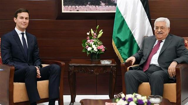 US President Donald Trump's senior advisor and son-in-law Jared Kushner meets Israeli Benjamin Netanyahu, Palestinian Mahmoud Abbas