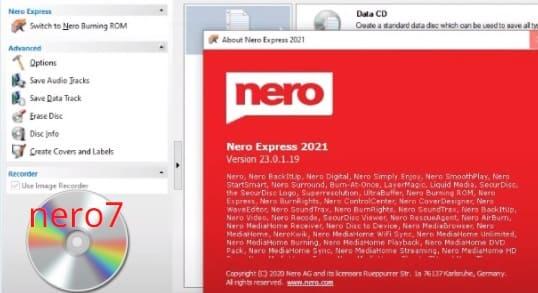 تحميل برنامج نيرو 7 مجانا برابط مباشر Nero للكمبيوتر لحرق الاسطوانات