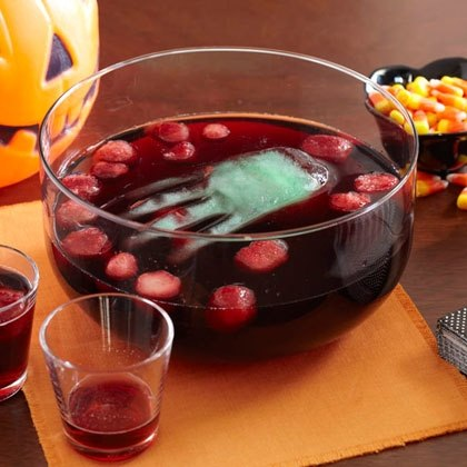 Bloody Punch with Floating Hand Recipe