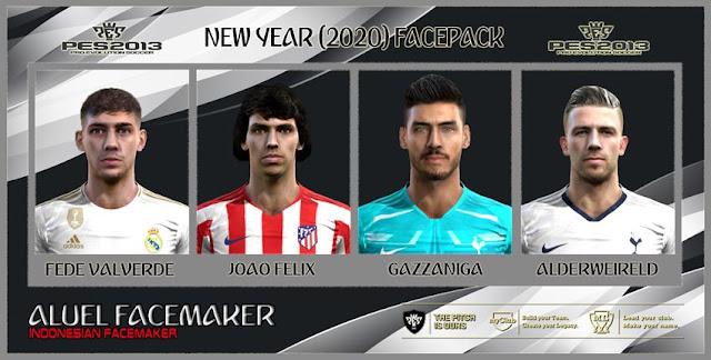 New Year 2020 Facepack PES 2013