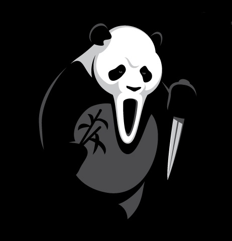 GhostFace Panda. HUMOR GRAFICO casi INTELIGENTE