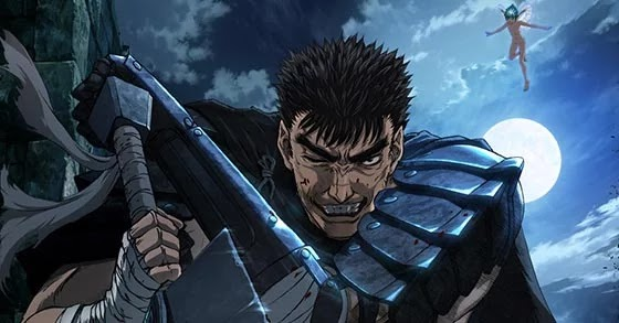 Bersek Opening Theme Teases Guts and Griffith Battle.