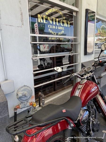 exterior of Kentucky Club & Grill in Juarez, Mexico